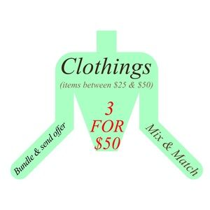 Jackets & Blazers - 3 for $50 - Mix & Match Clothings